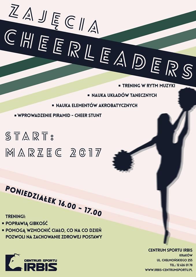 cheerleaders plakat IRBIS